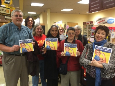 NLC Staffers are #StandingStrong with UFCW Local 400 Grocery Workers
